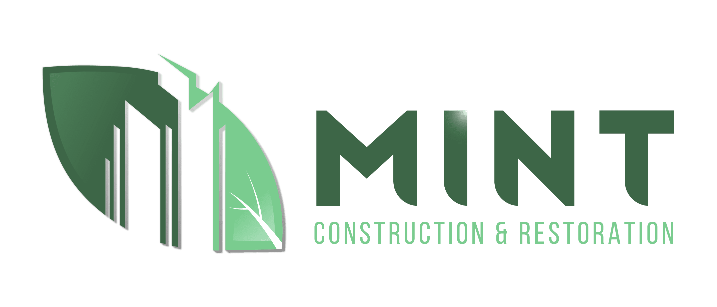 Mint Construction Logo